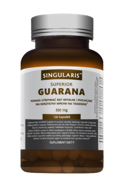 GUARANA 500 mg  SUPERIOR 120 kaps