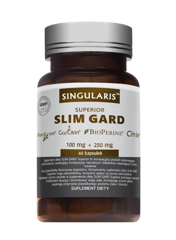 SLIM GARD SUPERIOR (Odchudzanie) 60 kaps