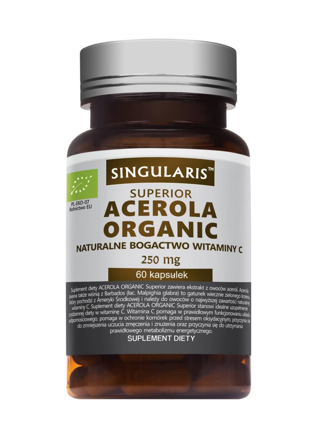 ACEROLA ORGANIC SUPERIOR 60 kapsułek