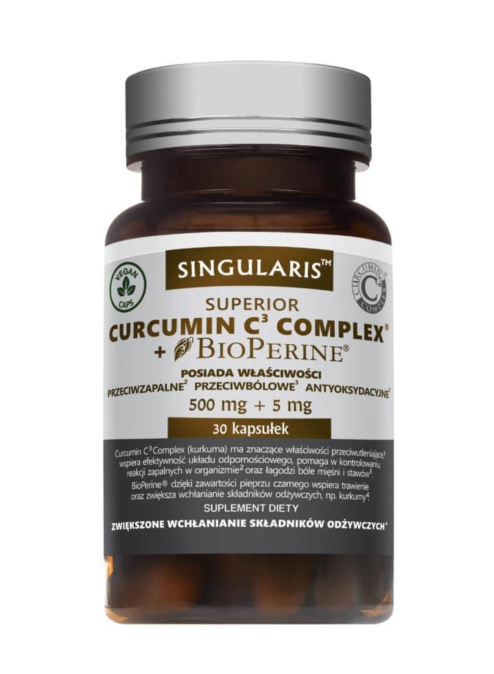 CURCUMIN C3  COMPLEX® + BIOPERINE® (Kurkuma) 30 kaps