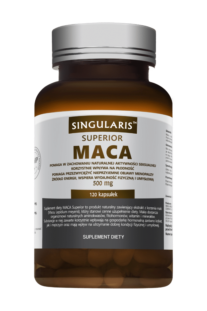 MACA 500 mg SUPERIOR 120 kaps