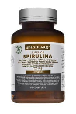 SPIRULINA SUPERIOR 700 mg 120 kaps