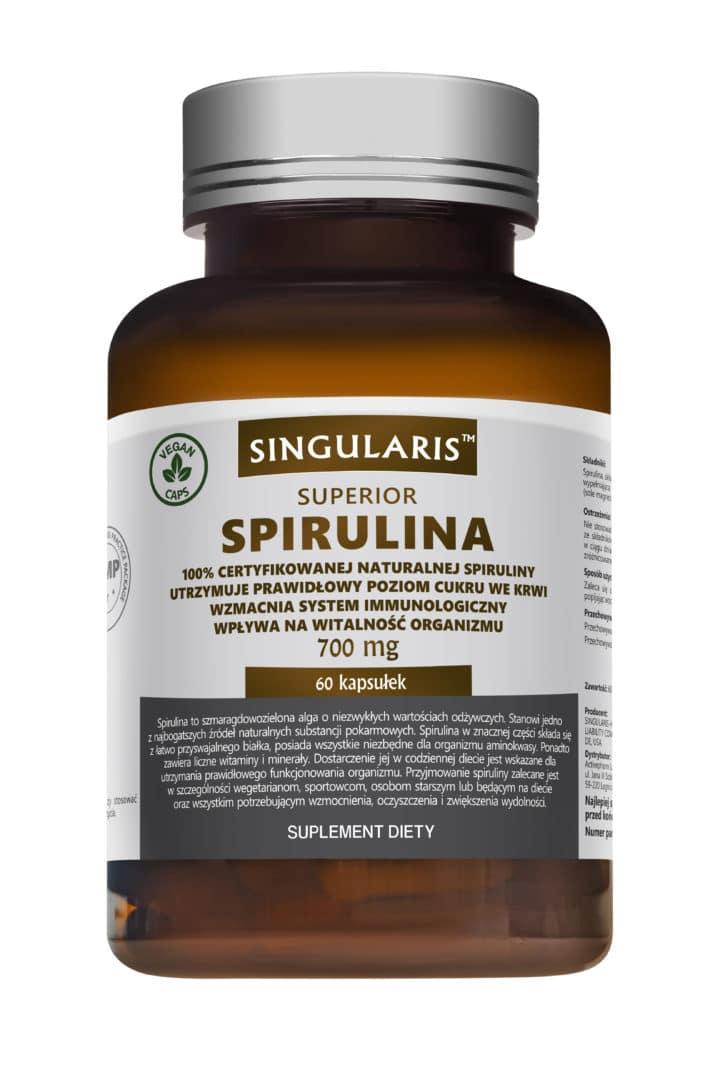 SPIRULINA SUPERIOR 700 mg 60 kaps