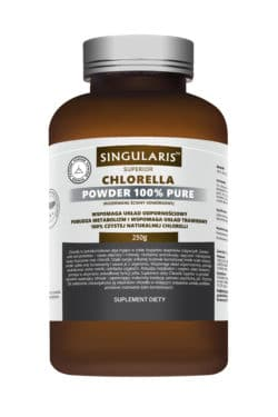 CHLORELLA POWDER 100% PURE 250g SINGLARIS SUPERIOR