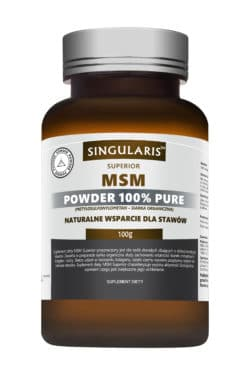 MSM POWDER 100% PURE 100g SINGULARIS SUPERIOR