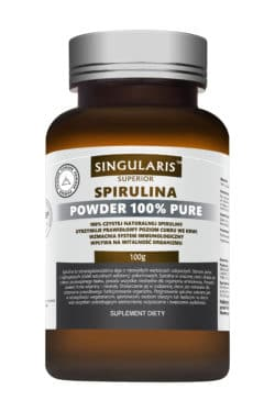 SPIRULINA POWDER 100% PURE 100g SINGULARIS SUPERIOR