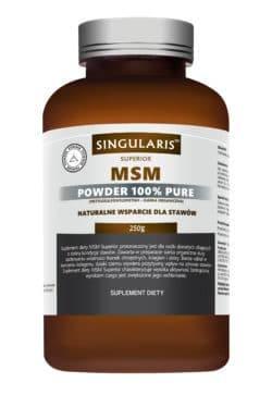MSM POWDER 100% PURE 250g SINGULARIS SUPERIOR