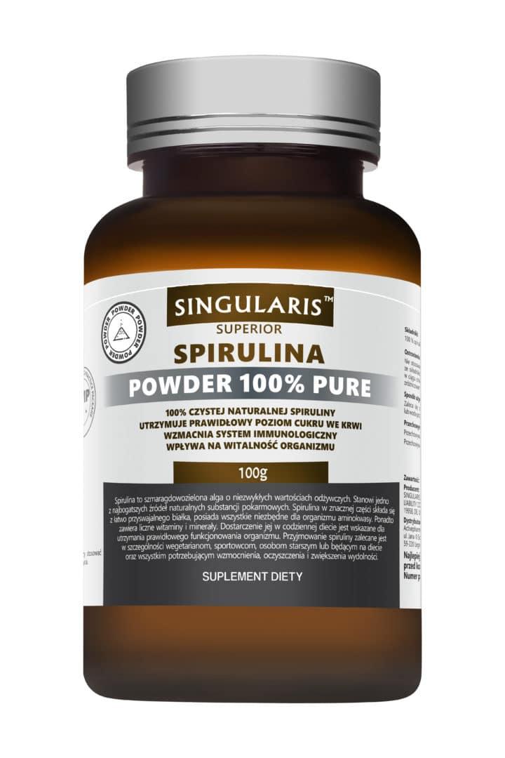 SPIRULINA POWDER 100% PURE 100g SINGULARIS SUPERIOR