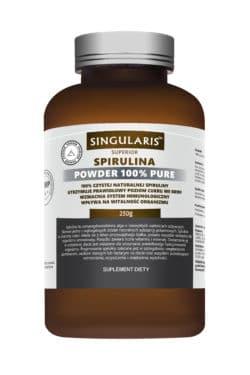 SPIRULINA POWDER 100% PURE 250g SINGULARIS SUPERIOR
