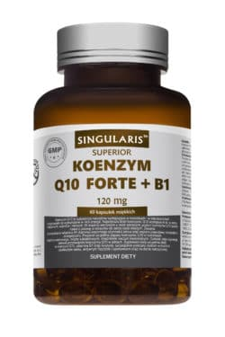 KOENZYM Q10 FORTE + B1 60 kaps SINGULARIS Superior