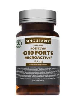 KOENZYM Q10 FORTE MICROACTIVE SR 120 mg SINGULARIS Superior 30 kaps