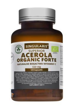ACEROLA ORGANIC FORTE  520mg 120 vegan kaps