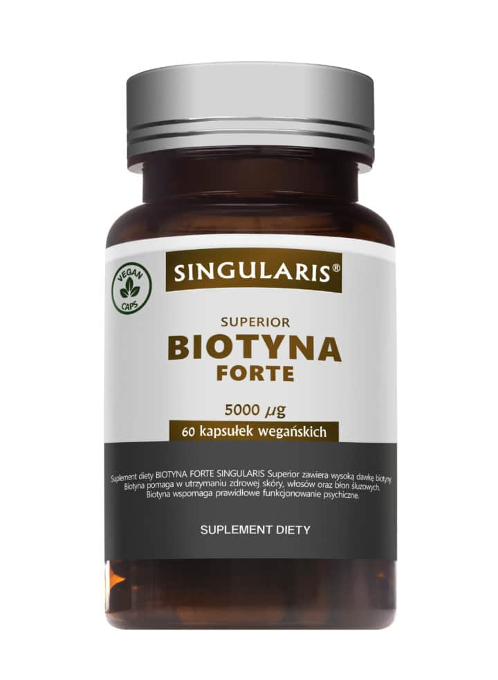 BIOTYNA FORTE SINGULARIS® SUPERIOR - 60 kapsułek wegańskich