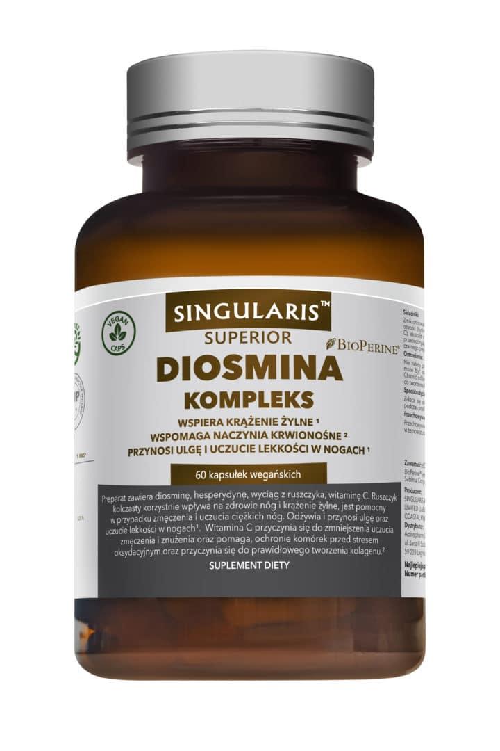 DIOSMINA KOMPLEKS SINGULARIS® SUPERIOR - 60 kapsułek wegańskich
