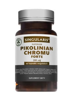 PIKOLINIAN CHROMU FORTE 200 μg SINGULARIS® SUPERIOR - 60 kapsułek wegańskich