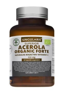 ACEROLA ORGANIC FORTE  520mg 60 vegan kaps