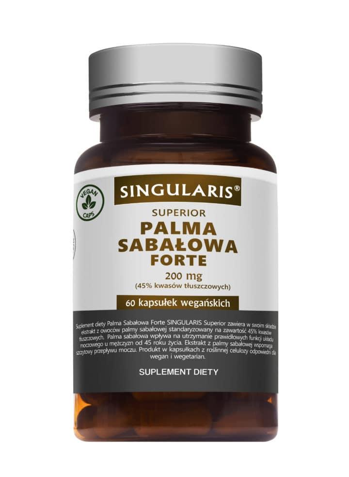 PALMA SABAŁOWA FORTE SINGULARIS® SUPERIOR - 60 kapsułek wegańskich